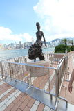 View of The Avenue of Stars in Hong Kong Stock Photos