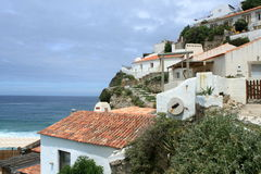 View of Azenhas do Mar Royalty Free Stock Image