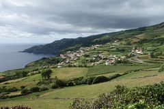 View on Azores Royalty Free Stock Images
