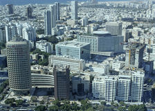 View from Azrieli Towers in Tel Aviv, Izrael Royalty Free Stock Images