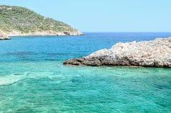 Azure bay Royalty Free Stock Images
