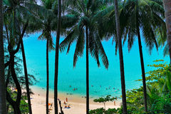 View of the azure sea Royalty Free Stock Photo