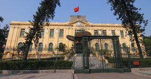 View of Bac Bo palace in Hanoi old town Royalty Free Stock Photography