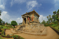 View of Badut Temple beside garden Royalty Free Stock Photography