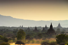 View at Bagan old ancient temple in Bagan Stock Photography