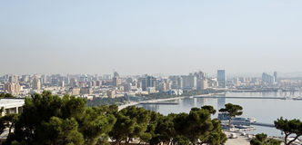 View of Baku Stock Photos