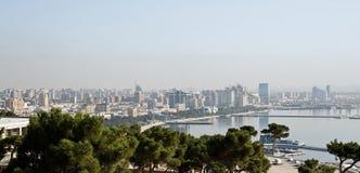 View of Baku stock photos