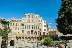 View of Baku Azerbaijan on bright Stock Images