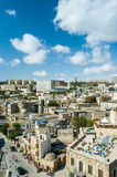 View of Baku Azerbaijan on bright Stock Photography