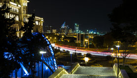 View of Baku from the Upland Park Stock Photography