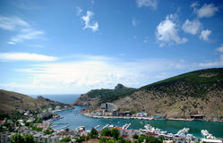 View of Balaklava bay royalty free stock images