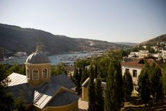 View of Balaklava bay, Crimea Stock Photography