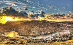 View of Balaklava Royalty Free Stock Images