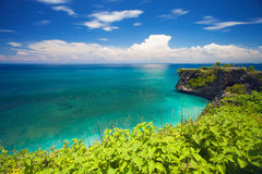 View of Balangan Beach in Bali, Indonesia, Asia Royalty Free Stock Photography