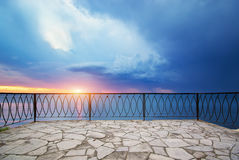 View on balcony Stock Photography