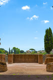 View from the balcony of the palatine in rome. Relax in the balcony with a view of rome Stock Photography