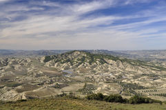 View of Balisicata landscape Royalty Free Stock Photography