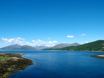 View from Ballachulish Brdige Stock Photography