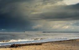 View at Baltic sea ,Palanga, Lithuania, Europe Stock Photos