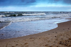 View of the Baltic Sea. Royalty Free Stock Image