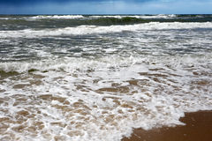 View of the Baltic Sea. Stock Image