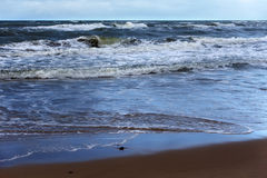 View of the Baltic Sea. Stock Images