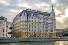View on Baltschug Kempinski Hotel in Moscow Stock Photos