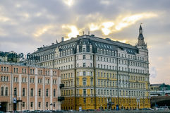 View on Baltschug Kempinski Hotel in Moscow Stock Photography