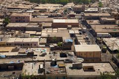 View of Bamako the city Royalty Free Stock Image