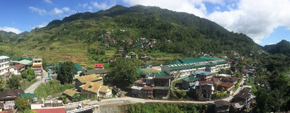 View of Banaue village in Ifugao, Philippines Royalty Free Stock Photo