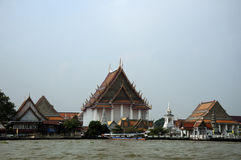A view from the bangkog, fascinating temples Royalty Free Stock Image