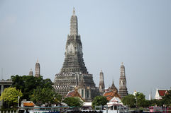 a view from the bangkog, fascinating temples Stock Images