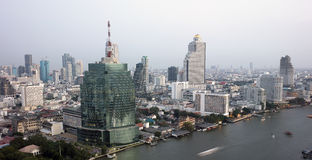 View of Bangkok Royalty Free Stock Photography
