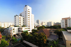 View of Bangkok. A view of central Bangkok, Thailand Royalty Free Stock Photo