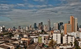 View of the daily Bangkok Stock Photography