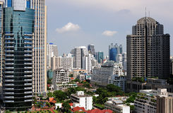 View of Bangkok Royalty Free Stock Image