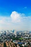 View of Bangkok city Royalty Free Stock Photography