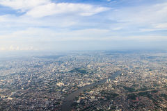 View of Bangkok city Royalty Free Stock Photo