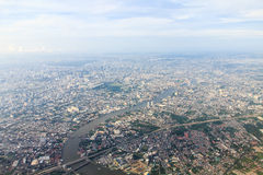 View of Bangkok city Royalty Free Stock Photography