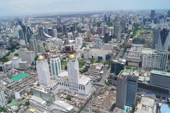 View of Bangkok from the eighty-fourth floor Stock Photo