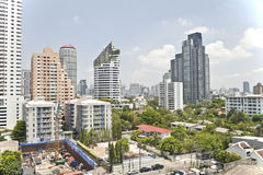 View of Bangkok landscape, Thailand Stock Image