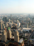 View of Bangkok's skyline Royalty Free Stock Images