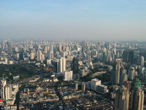 View of Bangkok's skyline Royalty Free Stock Photography