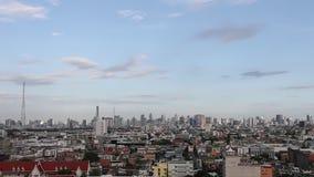 View of Bangkok Skyline stock footage