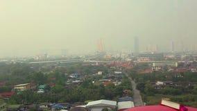 View of Bangkok, Thailand stock video footage