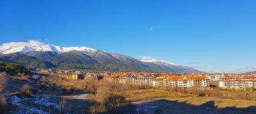 View of Bansko city Royalty Free Stock Photos
