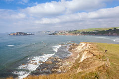 View From Bantham to Bigbury Stock Photo