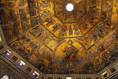 View of the Baptistery of Saint John in Florence, Ital Royalty Free Stock Image