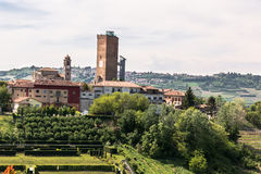 View of Barbaresco, Italy Stock Photos
