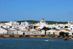 View of Barbate town. Stock Photos